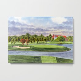 East Lake Golf Course Atlanta GA 15th Hole Metal Print