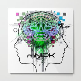 mNIPK Metal Print