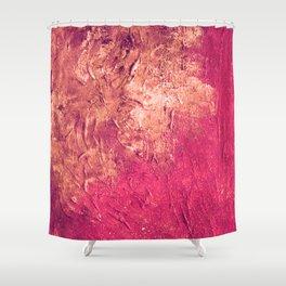 Gold Lion Shower Curtain
