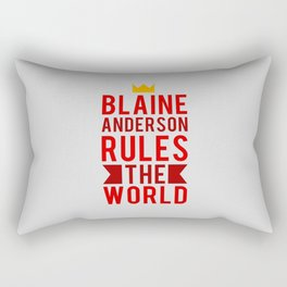 Blaine Anderson Rules The World Rectangular Pillow