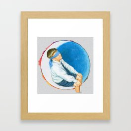 moonboy Framed Art Print