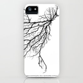 Highways of America iPhone Case