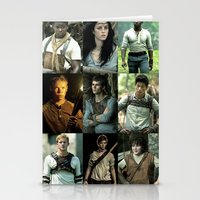 maze runner Stationery Cards featuring The Maze Runner Character's by TK Studios