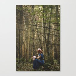 Deep in Forest Canvas Print