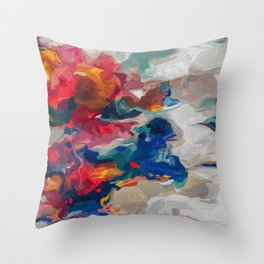 solar.storm Throw Pillow