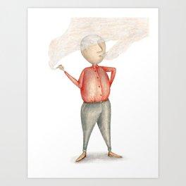 Amstermannetje #2 Art Print