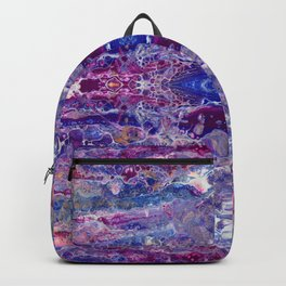 Psycho - Colorful Parallel Universes Encompassing Us All by annmariescreations Backpack