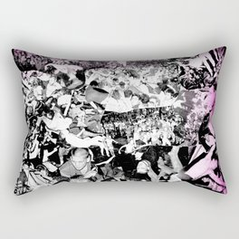 Punk Show Slam Pit Rectangular Pillow