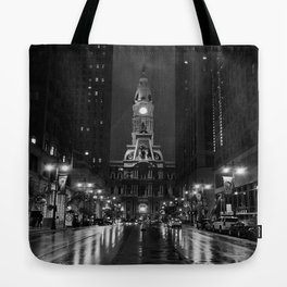 City of Brotherly Love [B+W] Tote Bag