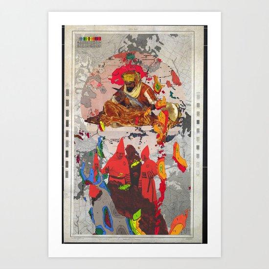 Khan's Requiem (The Beginning, The End) Art Print