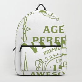 Green-Vintage-Limited-1962-Edition---55th-Birthday-Gift Backpack