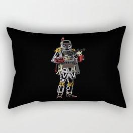Boba Font Rectangular Pillow