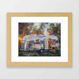 Easy Livin Framed Art Print