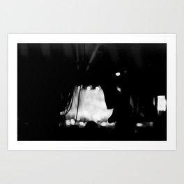 Light and Sound Box Art Print