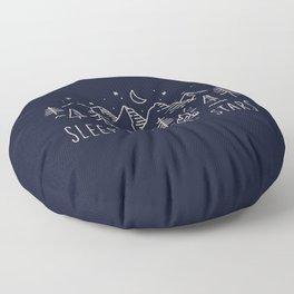 Sleep under the stars Floor Pillow