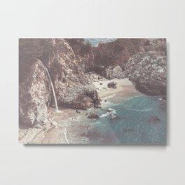 McWay Falls Big Sur California Metal Print