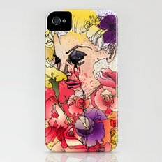 When the Petals Start Pouring iPhone (4, 4s) Slim Case