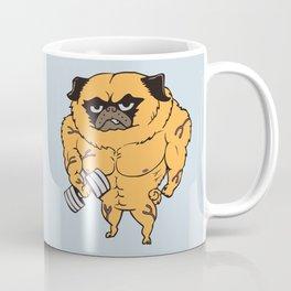 Buff Pug Coffee Mug