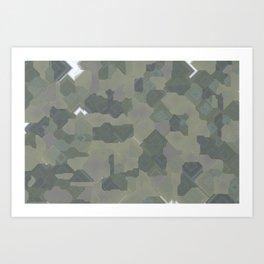 Pixel Sort: Random Seed / 1500 Steps / 200 Seeds Art Print