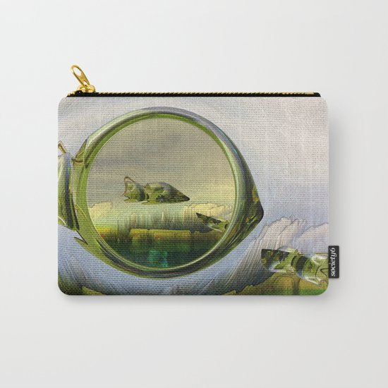 Slipping thru time like sun rays on glass Carry-All Pouch