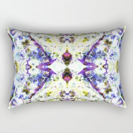 Project 130.4 - Abstract Photomontage Rectangular Pillow
