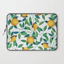 Lemon pattern II Laptop Sleeve