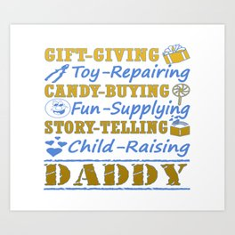 I'M A PROUD DADDY! Art Print