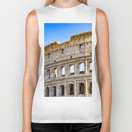 Vita Bellissima (Beautiful Life): Colosseum in Rome, Italy Biker Tank