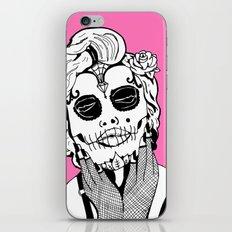 Dia De Los Marylin iPhone & iPod Skin