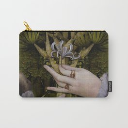 """The hands of Bosch and the Spring"" Carry-All Pouch"