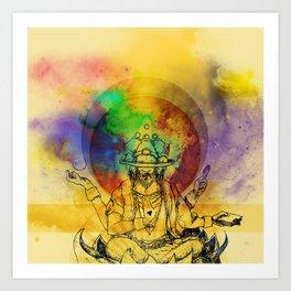 Brahma dream Art Print