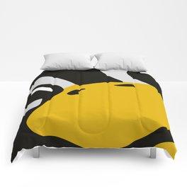 Linux tux Penguin eyes Comforters