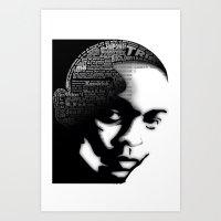 kendrick lamar Art Prints featuring Kendrick Lamar by Dee9922