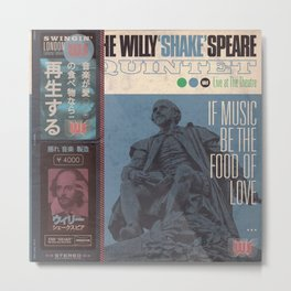 Willy 'Shake' & All That Jazz (Japanese OBI Edition) Metal Print