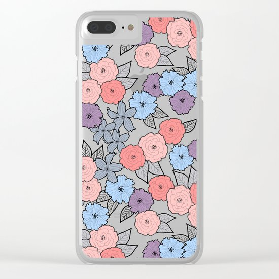 Bloom Baby Bloom Clear iPhone Case
