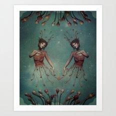let your lovelights shine Art Print