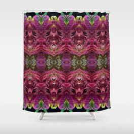 Expansion Beyond Kaleidoscope Collage Shower Curtain