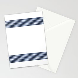 Band in Navy Stationery Cards