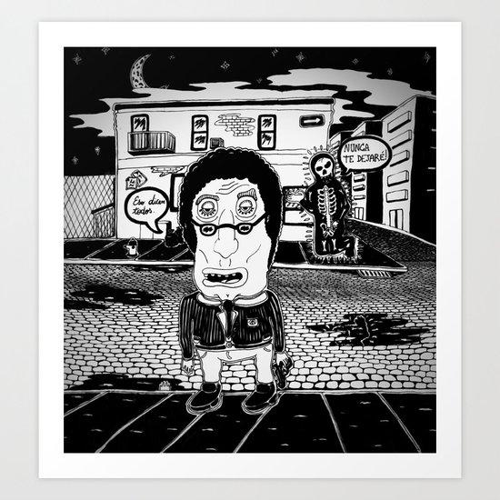 ¨Never leaving¨ Art Print