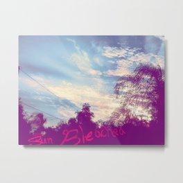 Sun Bleached Metal Print