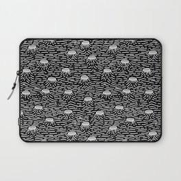 Dark Moon Surface Laptop Sleeve