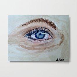 eye And I Metal Print