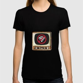 Vintage TV No Signal T-shirt