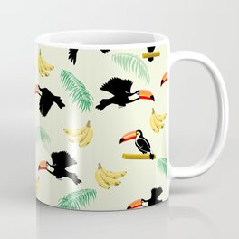 Toucan tropical pattern Coffee Mug