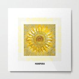 Third Chakra / Manipura / Solar Plexus (Chakra Series) #3 Metal Print
