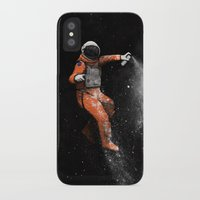 astronaut iPhone & iPod Cases featuring Astronaut by Florent Bodart / Speakerine