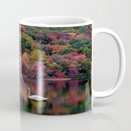 colored swan Coffee Mug