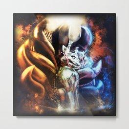 Shining Kyubi Metal Print