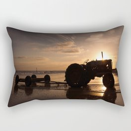 Sunrise on Cromer Beach Rectangular Pillow