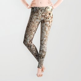 Sparkling GOLD Lady Glitter #2 #decor #art #society6 Leggings
